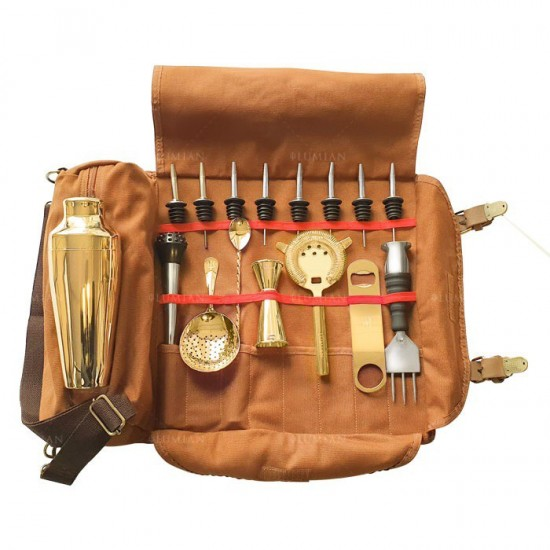 Kit Minerva Gold + Roll Up