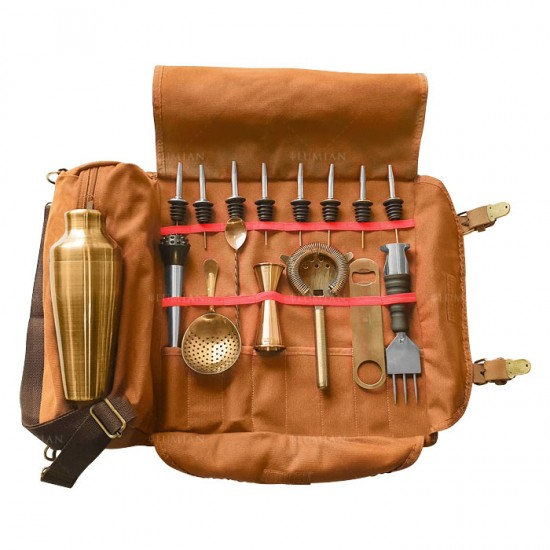 Kit Minerva Bronze + Roll Up
