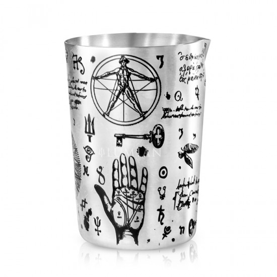 Sakura Alchemy Mixing Glass | 500 ml Argento