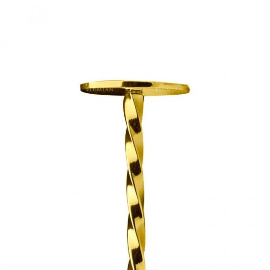 Muddler Bar Spoon   28 cm Gold