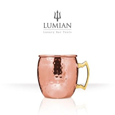 Stone hammered mug 50 cl