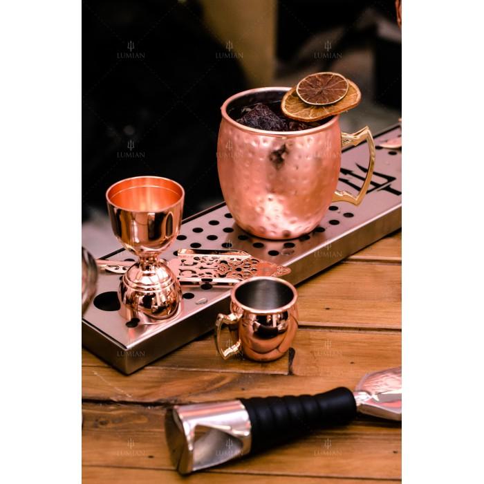 stone moscow mug 50 cl rame hammered. Black Bedroom Furniture Sets. Home Design Ideas